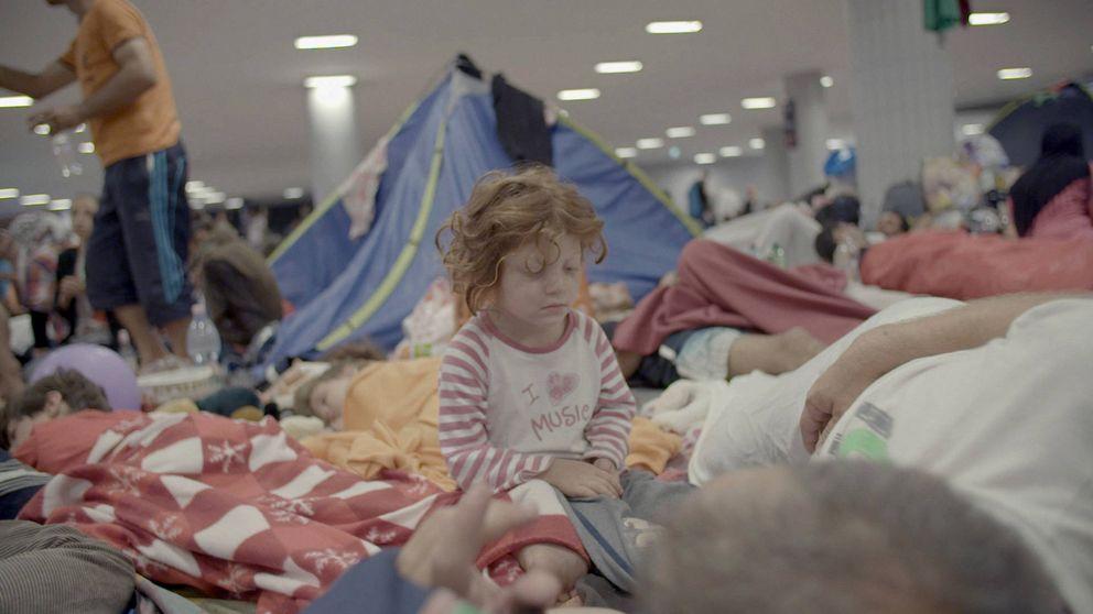 'Nacido en Siria', siete niños para sacarle los colores a Europa