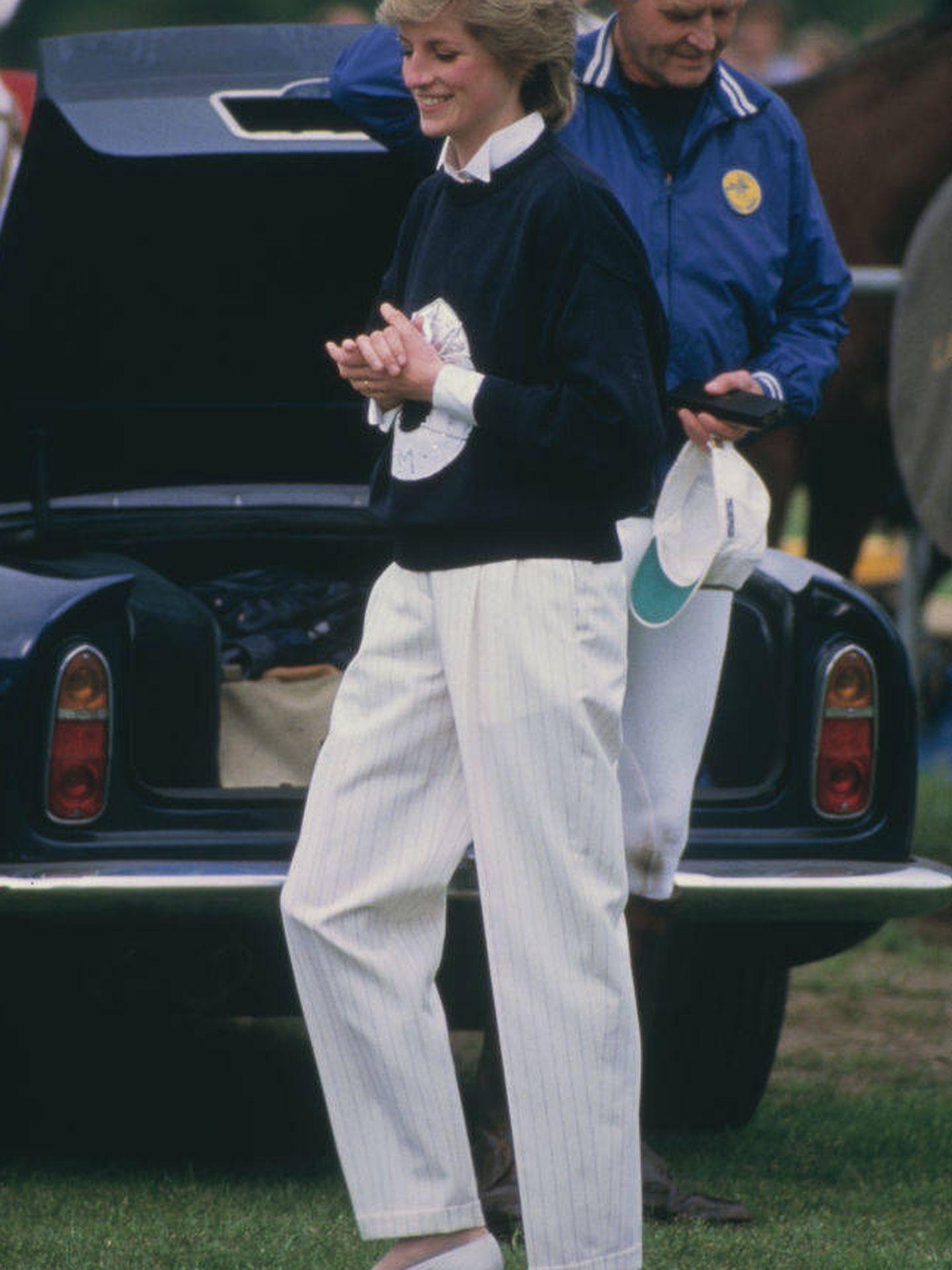 Diana de Gales en 1986. (Getty)