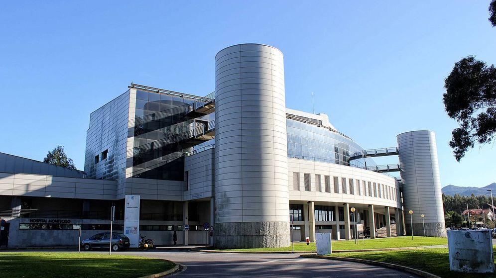 Foto: Hospital Montecelo de Pontevedra. (Bene Riobó / Wikimedia Commons)