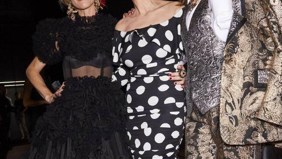 Monica Bellucci, Carla Bruni y otras 158 tops son del squad Dolce & Gabbana