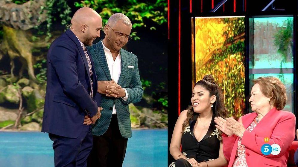 Foto: Kiko Rivera e Isa Pantoja, en 'Suervivientes 2019'. (Telecinco)