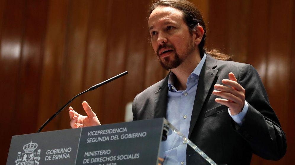 Foto: Pablo Iglesias, ya como vicepresidente segundo y ministro de Derechos Sociales y Agenda 2030. (EFE)