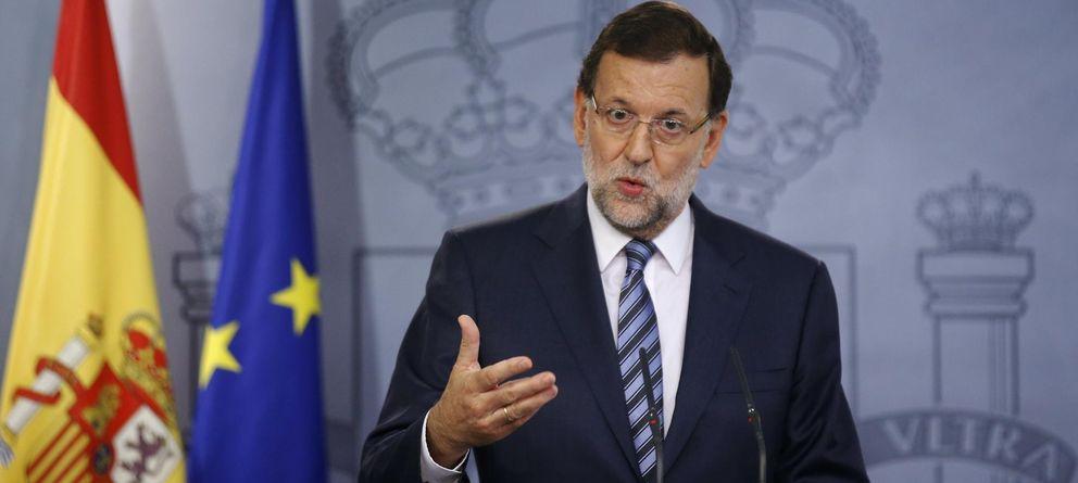 Foto: El presidente del Gobierno, Mariano Rajoy, durante su intervención (Reuters)