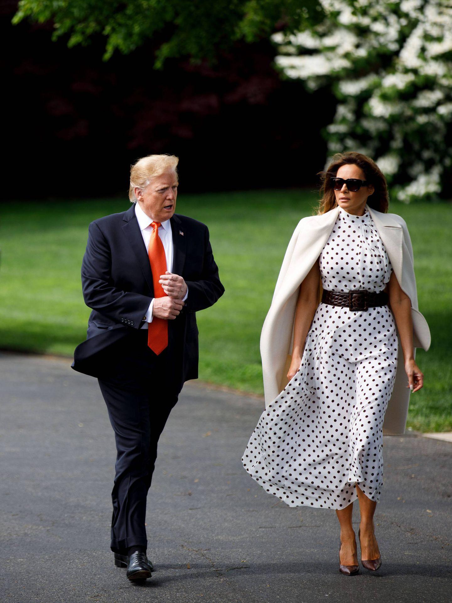 Melania y Donald Trump. (Cordon Press)