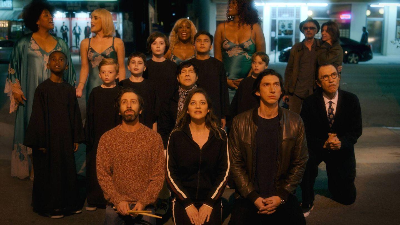 Adam Driver y Marion Cotillard encabezan el reparto de esta ópera rock. (Elástica / Filmin)