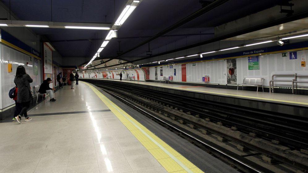 Foto: Línea tres del Metro de Madrid. (EFE)