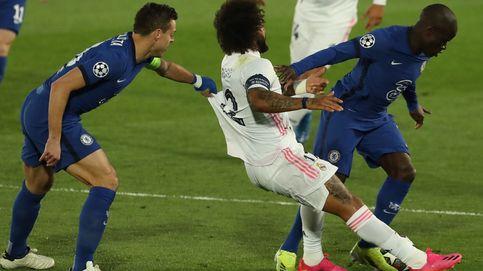 Marcelo firma una de sus peores noches como guinda a 15 años de éxitos en el Madrid