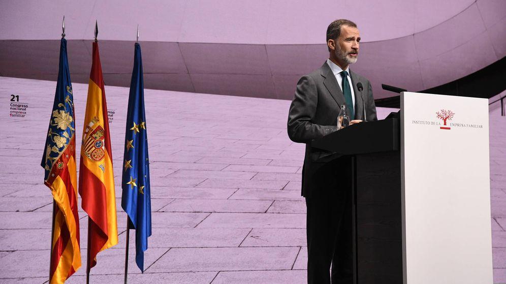 Foto: Felipe VI, en la inauguración del XXI Congreso del Instituto de la Empresa Familiar. (IEM)