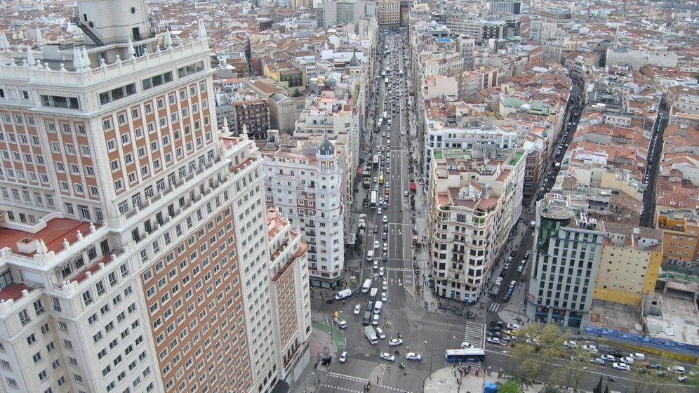 Foto: Vista de la Gran Vía de Madrid. (Foto: E.S.)