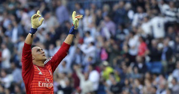 La sugerencia de Zidane a un Keylor Navas 'traicionado' en el Real Madrid