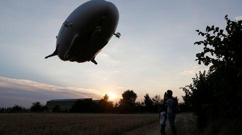 El 'culo volador' despega: el primer paseo de la aeronave más grande del mundo