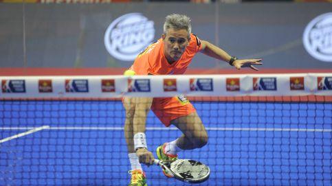 Espectacular punto de Miguel Lamperti en el Santander Open de pádel