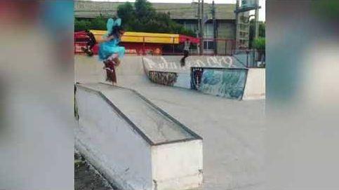 El hada del skate que arrasa en las redes sociales