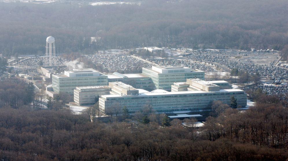Foto: Vista aérea de la sede de la CIA en Langley, Virginia, en 2008. (Reuters)