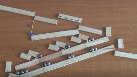 El increíble laberinto de canicas, imanes y maderas que ha conquistado a YouTube