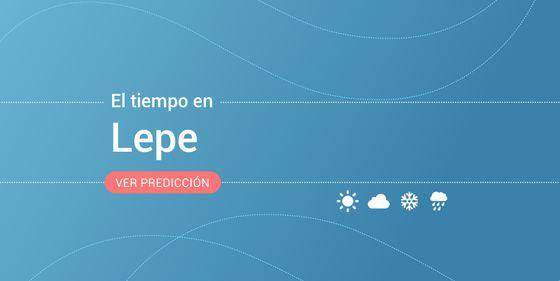 7 El En De Meteorológica HoyMiércoles Tiempo LepePrevisión Agosto mv08nNw