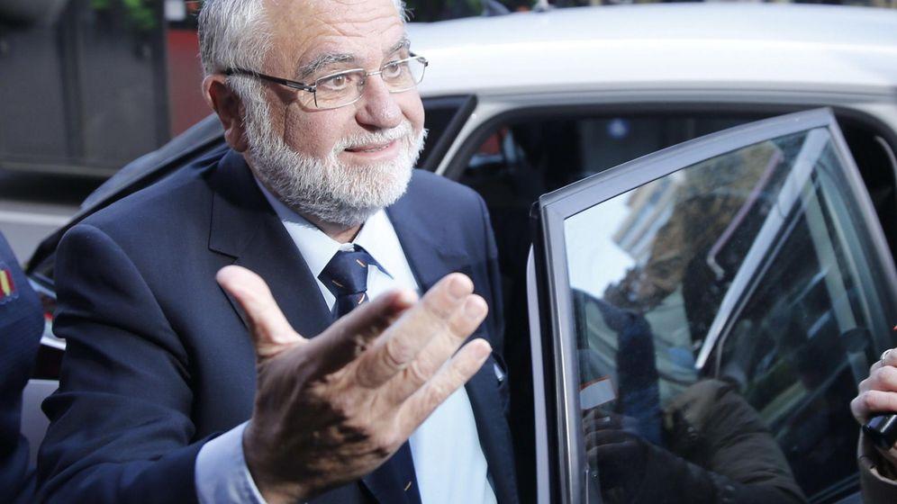 Foto: El expresidente de Les Corts y exvicepresidente del Gobierno valenciano Juan Cotino, en una fotografía de archivo. (EFE)