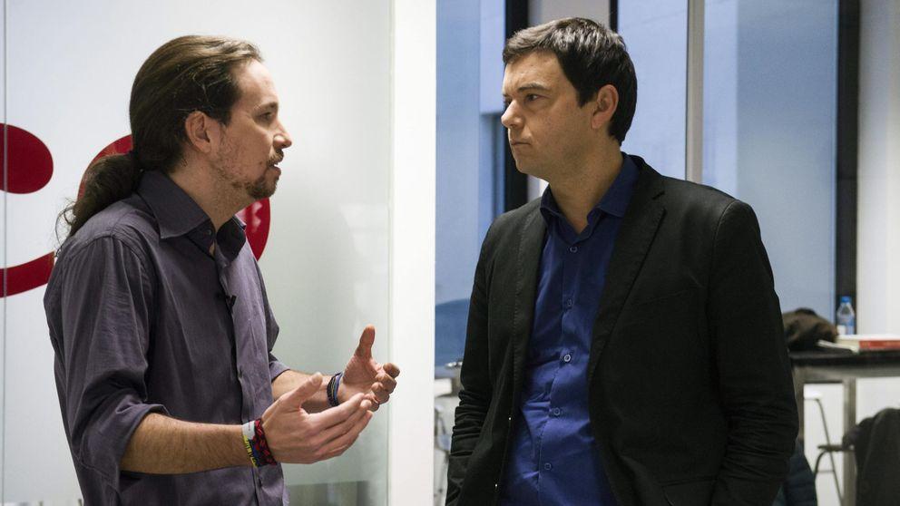 Pablo Iglesias le roba la agenda a Pedro Sánchez: Corbyn, Piketty, Stiglitz, EFC...