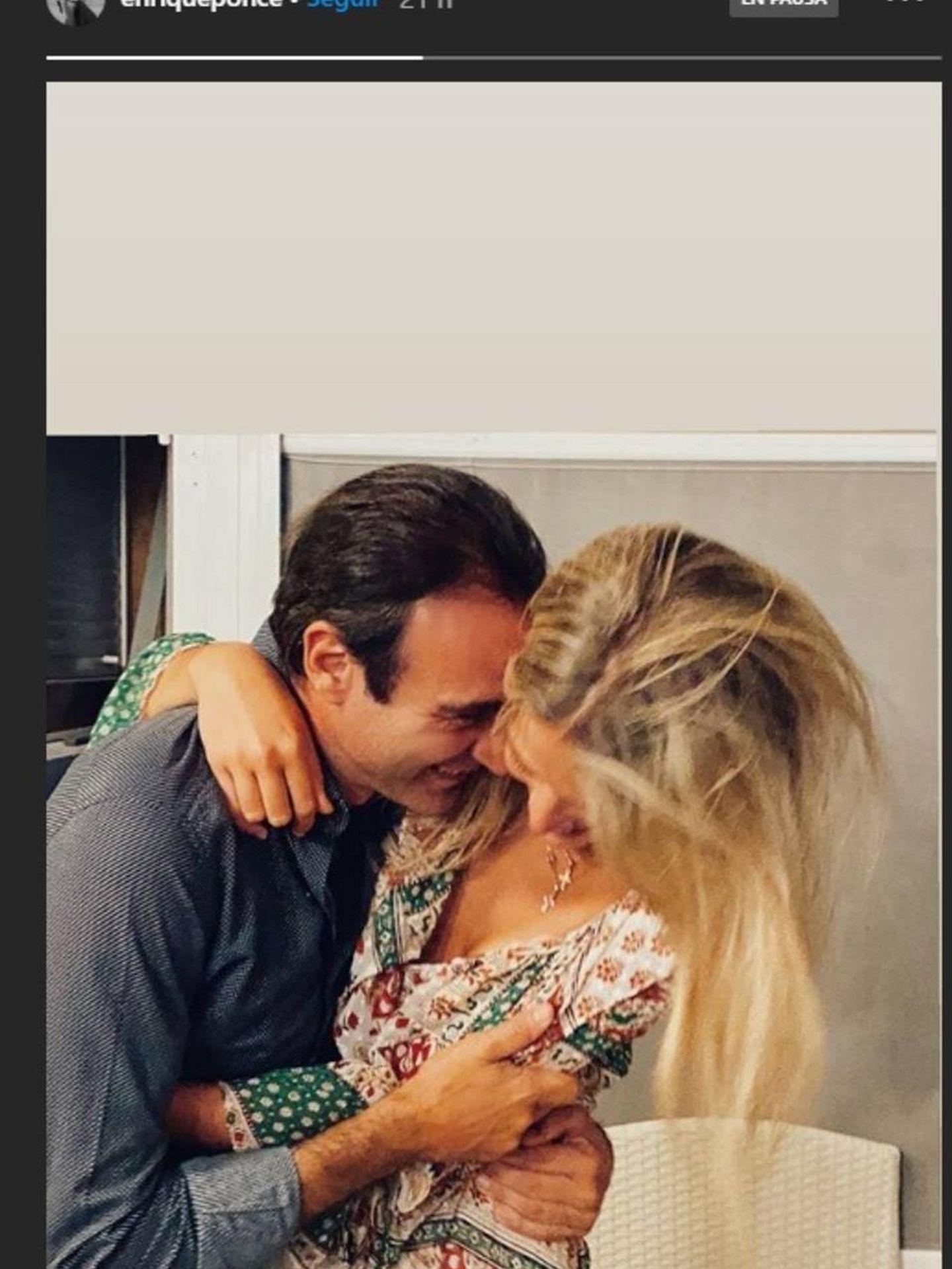 La pareja, en una imagen de Instagram. (RR.SS.)
