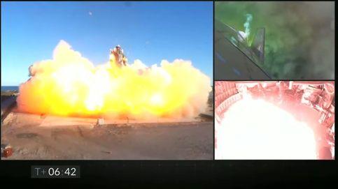 La nave de SpaceX que pretende llevar humanos a Marte explota en un aterrizaje de prueba