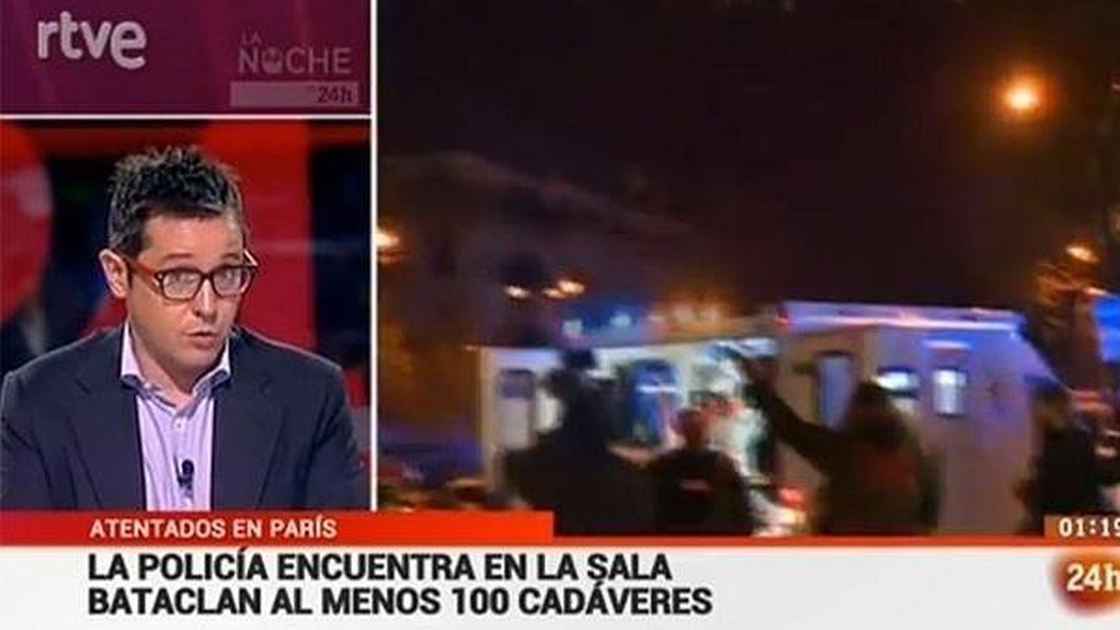 Foto: Sergio Martín, presentador de 'La Noche en 24 Horas'. (EC)