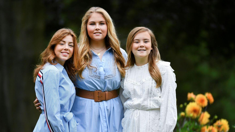 Alexia, Amalia y Ariane de Holanda. (Reuters)