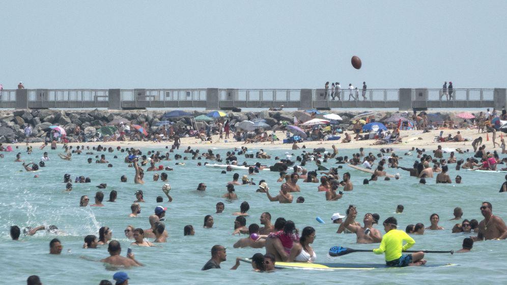 Foto: Coronavirus en Miami. (EFE)