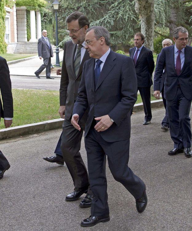Foto: Rajoy y Florentino Pérez en una imagen de archivo. (EFE)