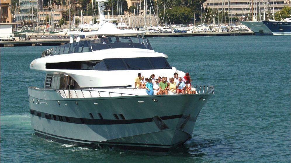 Foto: Imagen del yate 'Fortuna' en aguas de Mallorca en agosto de 2011. (Gtres)