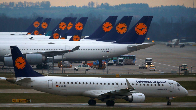 Aviones de la aerolínea alemana Lufthansa (Reuters)