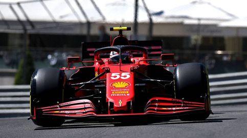 Ferrari impresiona en Mónaco a Mercedes y Red Bull y Carlos Sainz da la talla