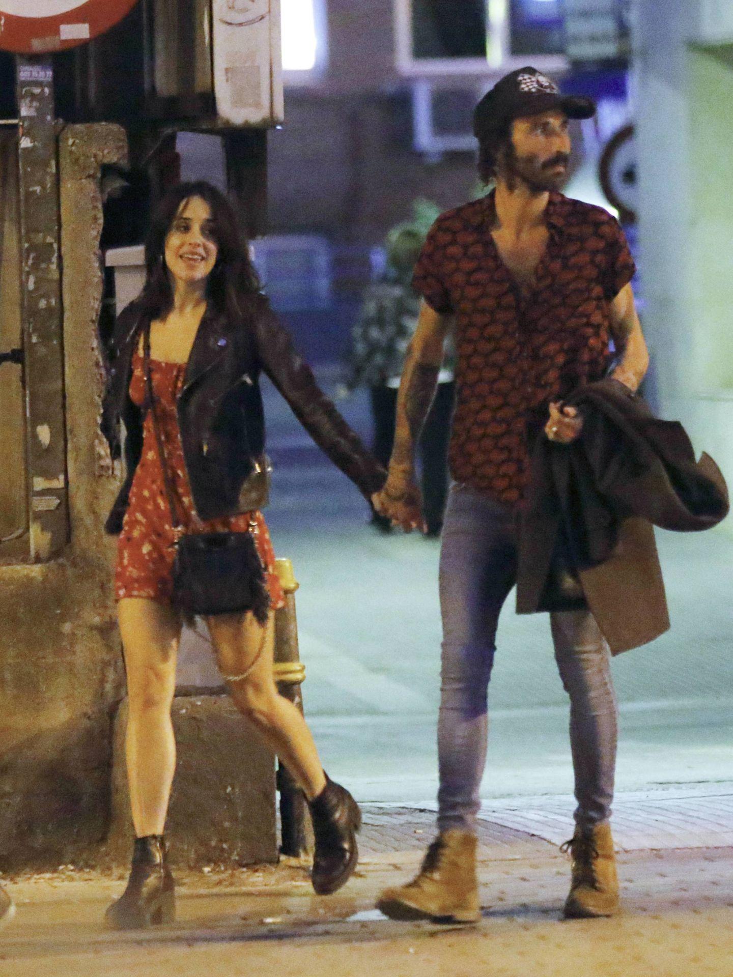 Macarena García y Leiva, paseando por Madrid. (Cordon Press)