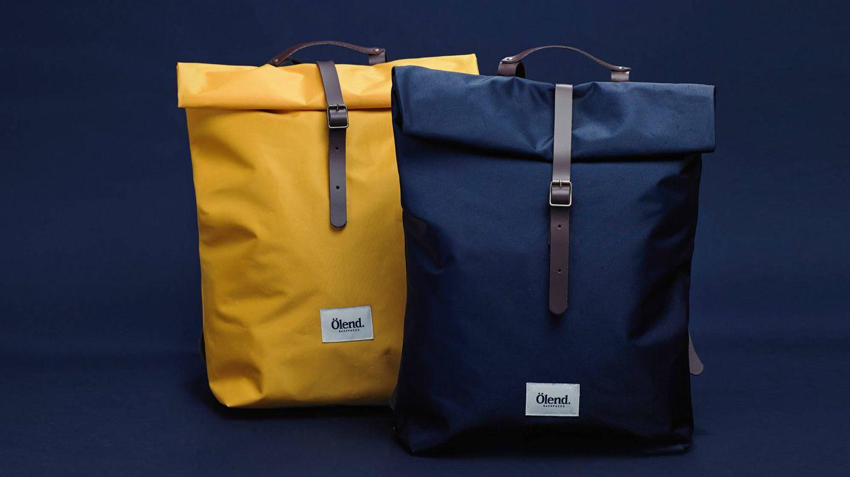 Foto: Ölend es una marca de mochilas de estilo sencillo y refinado, pensadas para los aventureros urbanos interesados en el mundo del arte y el diseño.