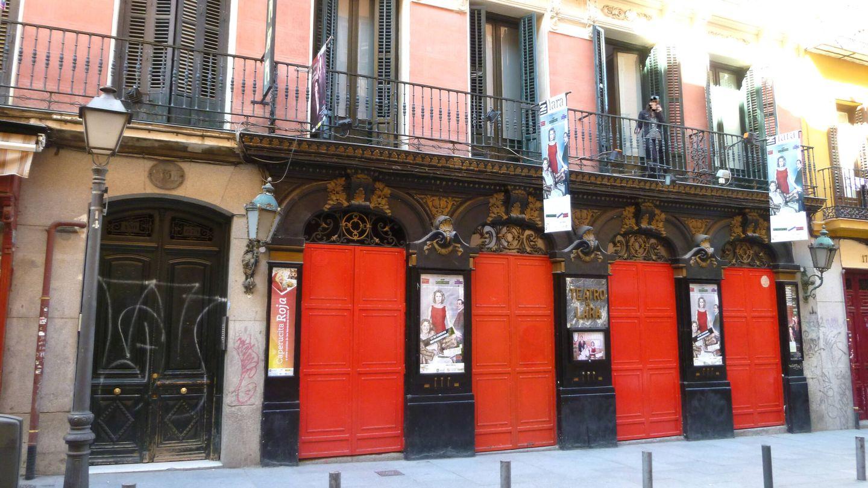 El teatro Lara en Madrid