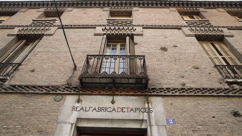 Los Stuyck defienden su casa en la Fábrica de Tapices: No es okupación, es renta antigua