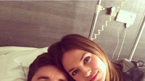 Helen Lindes mima a Rudy Fernández en el hospital