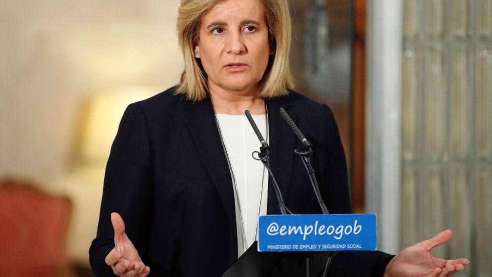 Foto: Fátima Báñez, en 2018. (EFE)
