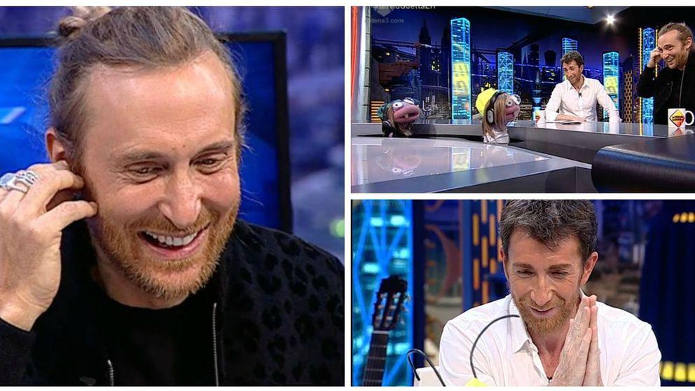 Guetta en 'El hormiguero': bromas por el pasado de Motos como DJ