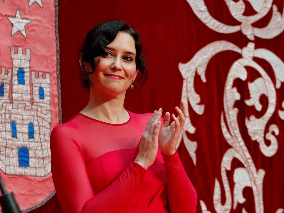 Foto: Investidura de la presidenta de la Comunidad de Madrid, Isabel Díaz Ayuso. (EFE)