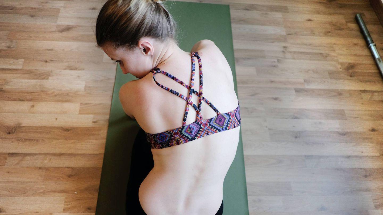 Ejercicios de pilates para un vientre plano. (GMB Monkey para Unsplash)