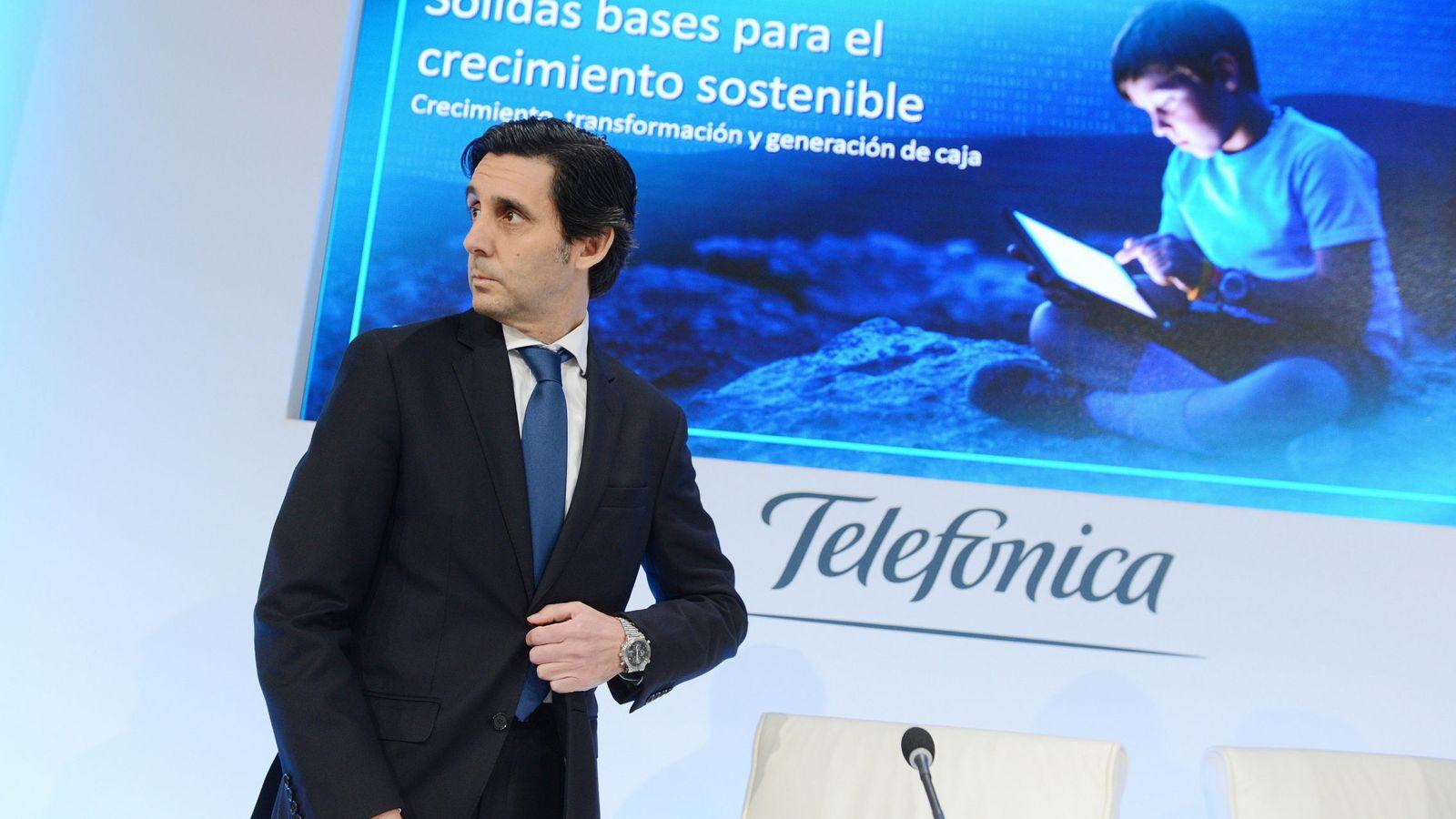 Foto: El presidente de Telefónica, José María Álvarez-Pallete (Efe)