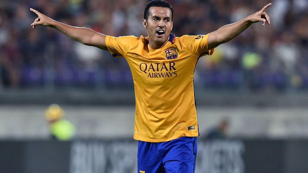 Pedro espera a que el United pague su cláusula (y el Barça necesita el dinero)