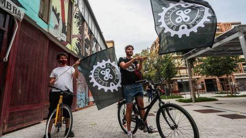 Rodant Bicimissatgeria, la alternativa valenciana de reparto de comida a domicilio