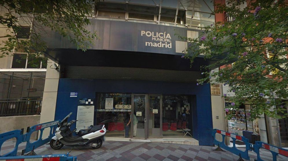 Foto: Comisaría de Policía en la que denunció los hechos. Foto: Google Maps