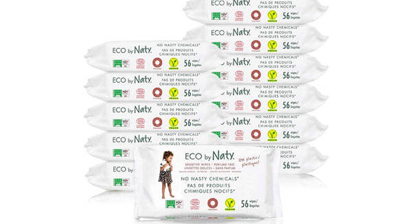Toallitas húmedas ecológicas para bebé Eco by Naty