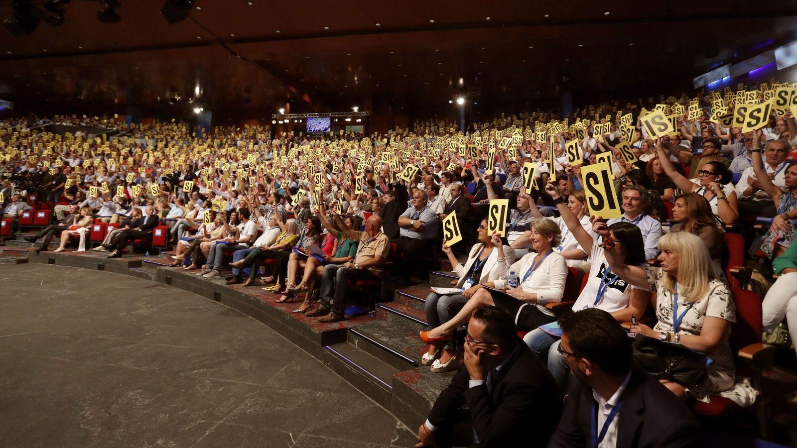 Foto: Congreso nacional del PP. (EFE)