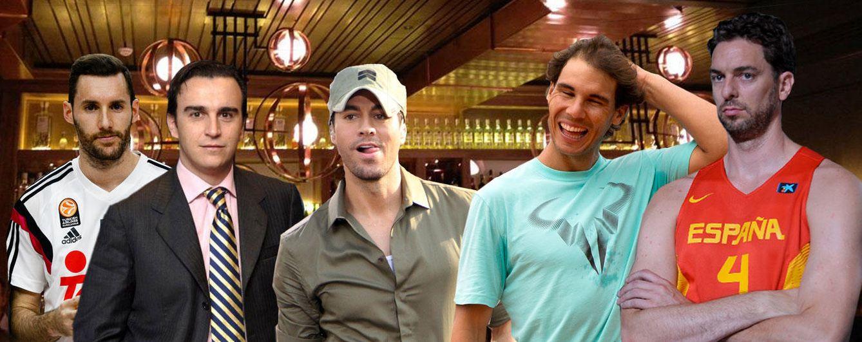 Nadal, Gasol, Enrique Iglesias, Rudy y Matutes inauguran su restaurante
