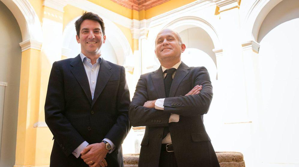 Foto: Santiago Reyna y Lucas Martínez Clar, CEOs de Realiza y DCN, respectivamente.