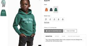 Post de H&M se resigna y elimina la foto de un niño negro con una sudadera tildada de racista