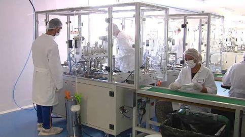 Mascarillas 'made in Extremadura' en una antigua fábrica de material fotográfico